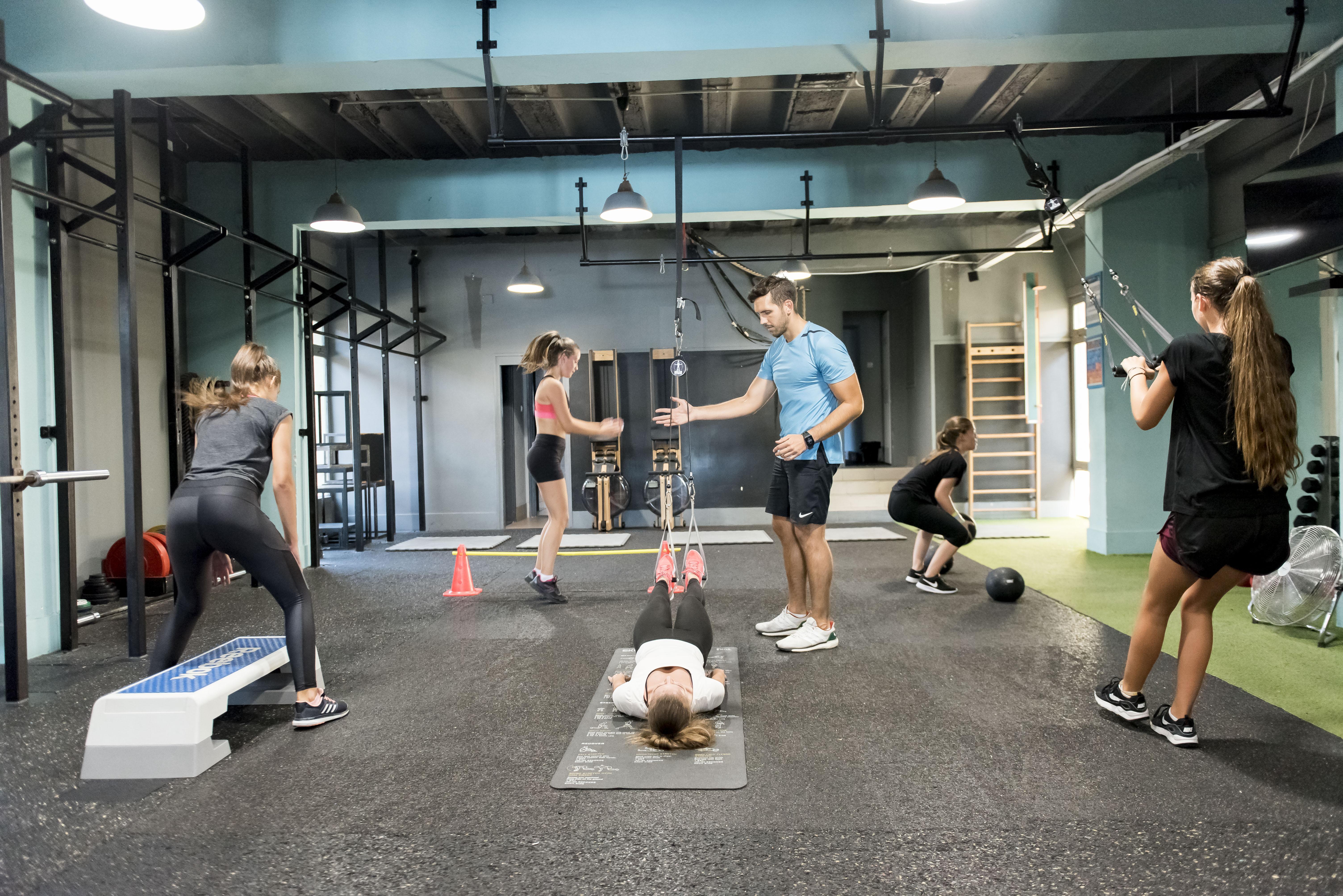 Csoportos edzés